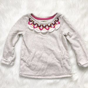 Genuine Kids Embroidered Tunic Sweater 4Y